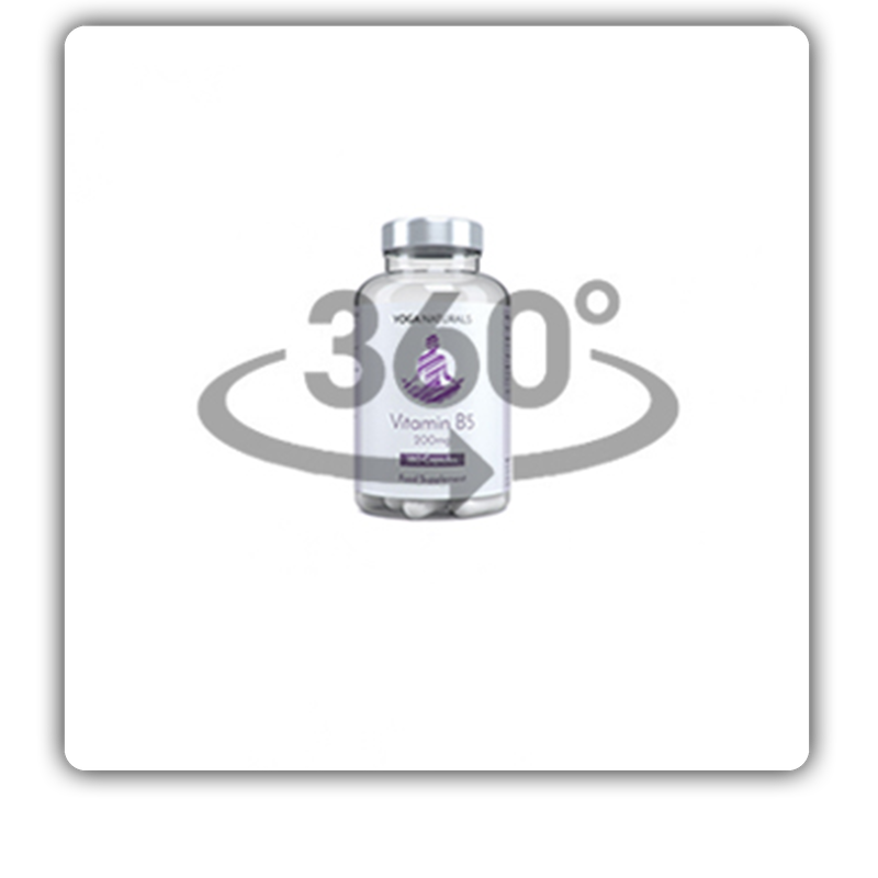 Bottle Mockup 3d 360 product loops