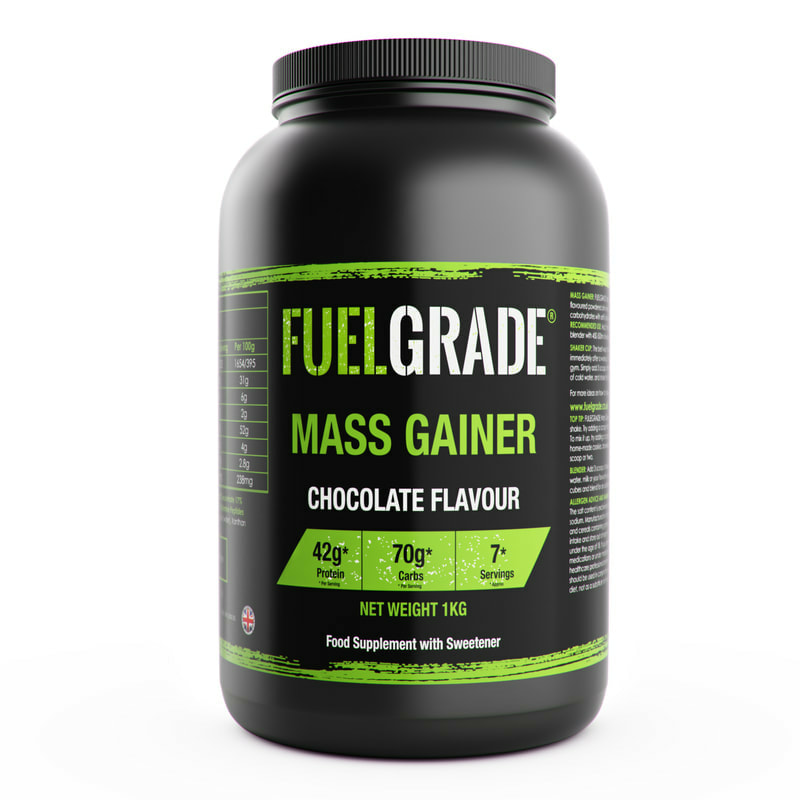 Fuel Grade protein 3D bottle mockup