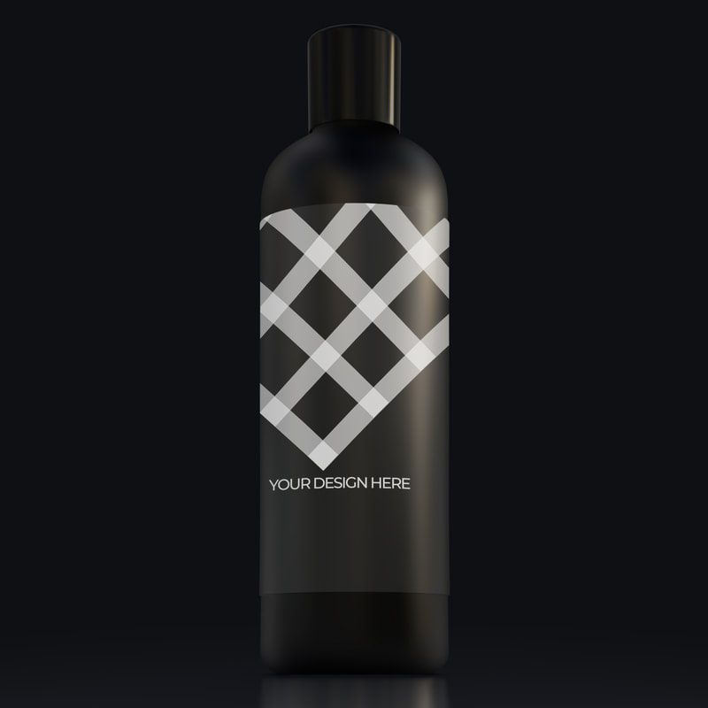 Shampoo conditioner bottle mockup psd 019 b
